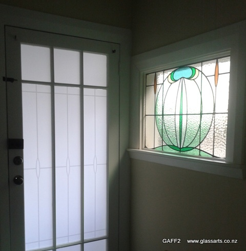 Glassarts Glass Arts Stained Glass Frosted Film Tinting