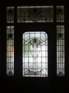 Glassarts Villa Stained Glass Entryway Devonport